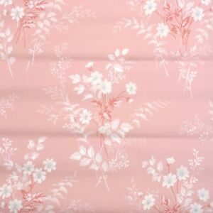 Image Is Loading 1940s Floral Vintage Wallpaper White Daisy Flowers On