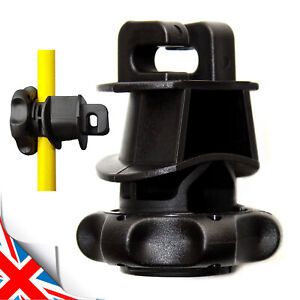 UK Tape Insulator IRUBLOC For post with diameter of 8 to14 mm AND 40mm tape 014