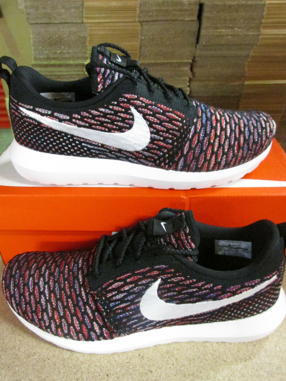 nike flyknit rosherun 016 mens running trainers 677243 016 rosherun sneakers shoes 06c743