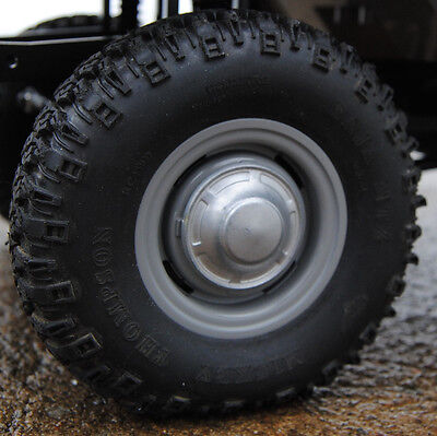 Hubcaps for RC4WD Land Cruiser FJ40 Scale RC Axial Crawler