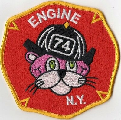 New York City Fire Department Engine 74 E74 Patch