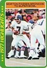 1978 Topps Craig Morton #2 Football Card
