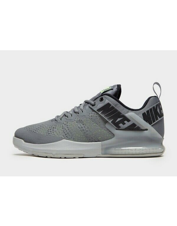 100% Authentique Nike Zoom Domination 11 Sneaker Hommes (uk 9.5) Gris Neuf