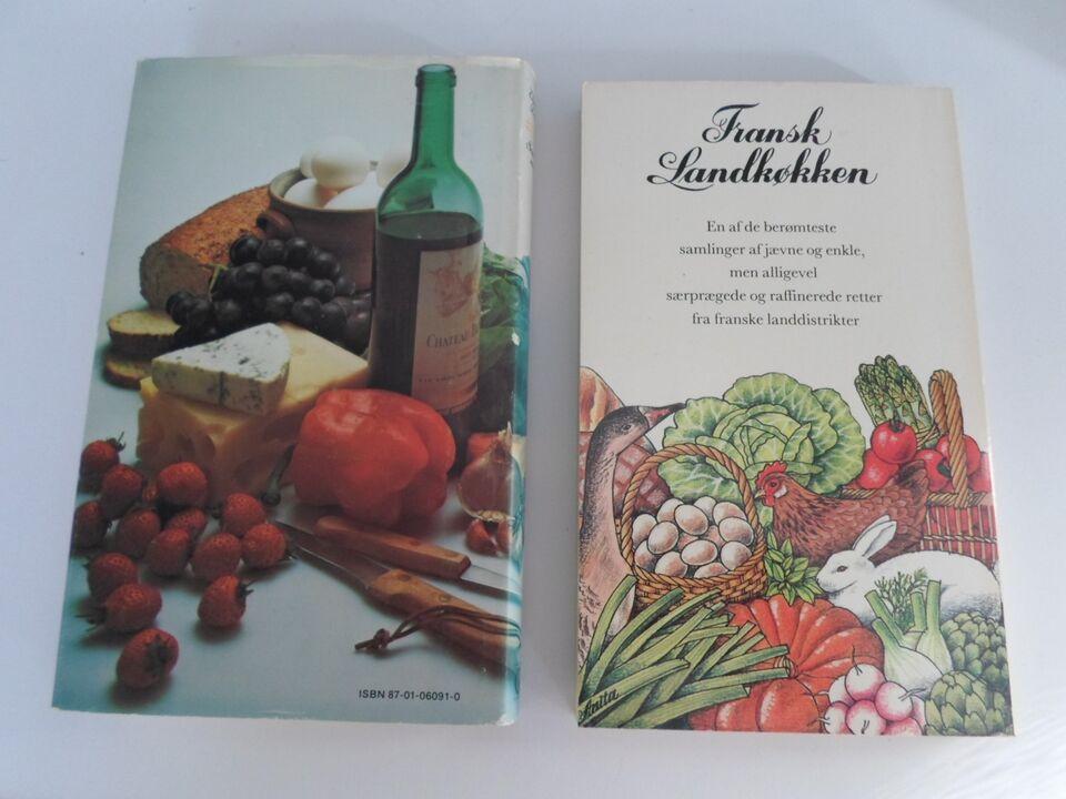 2 for 150 Fransk Landkøkken + Sommermad, Elizabeth David,