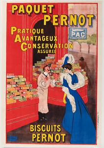 Affiche-Originale-Leonetto-Cappiello-Biscuits-Permot-PAC-Dijon-1905