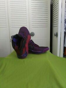 Men-039-s-Adidas-5-039-s-Lillard-RARE-basketball-shoes-11-5-purple-New-Never-Worn