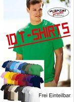 10x FRUIT OF THE LOOM T-Shirts Gr. S- XXL  (Frei Einteilbar 25 Farben) Größe: XL