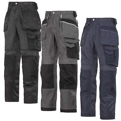 Premuroso Snickers Ultimate Lavoro Pantaloni Con Tasche Knee & Fondina. Rivenditore Regno Unito - 3212-mostra Il Titolo Originale