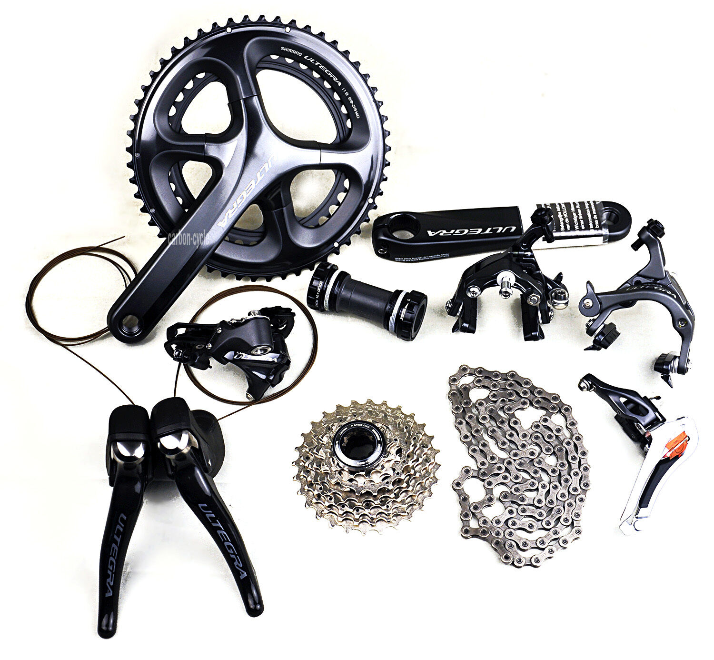 172.5 Groupset Shimano Ultegra R8000 11s 53 39T Road Bike Cycling brakes