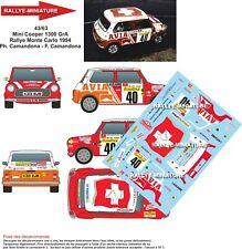 1//10 Mini Decal Set-Monte Carlo Rally-Paddy Hopkirk 1994 RALLYE Tamiya