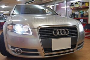 Pair D1s Bulbs Xenon Pure White 5000k Low Beam Headlight Audi