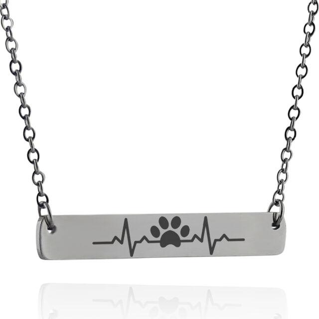 Cat Bar Necklace