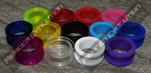 Acrylic-Screw-Flesh-Tunnel-Ear-Plug-Taper-Earring-Stretcher-Plug-Ear-Tunnel