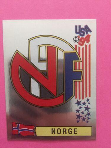 Usa 94 World Cup Panini 1994 Scudetto N.344 NORGE NORVEGIA