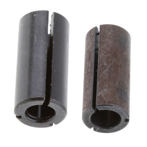 Set of 3 Carbide Collet Chuck Driver Adapter for Wood Router Bit