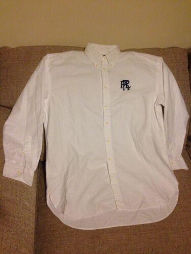 Large White Size Boyfriend Womens Ralph Lauren Style Shirt Bnwt IXxrawxO