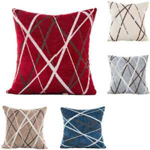 42-42cm-Home-Decor-Soft-Chenille-Geometric-Sofa-Throw-Cushion-Cover-Pilow-Case