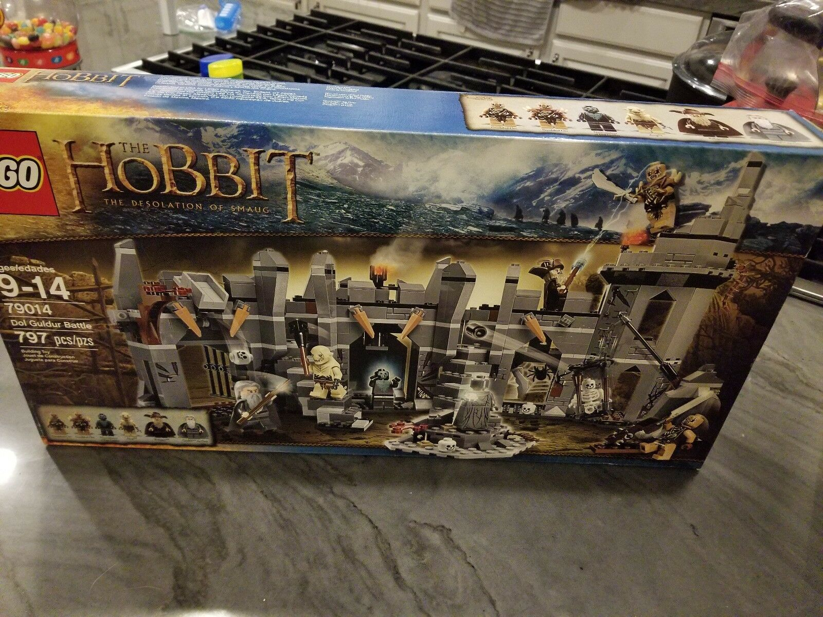 LEGO 79014 The Hobbit 79014 Dol Guldur Battle NISB Perfect Box No Reserve
