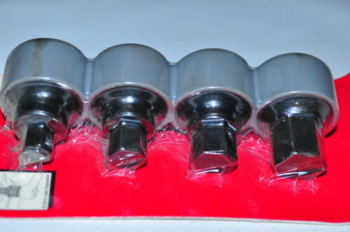 """12 17mm Stubby Extra short 1.63/"""" Hex Bits 1//2/"""" Dr /&1/"""" Wr Dr Lisle 69000 14 10"""