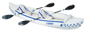 SEA-EAGLE-330-PRO-PACKAGE-INFLATABLE-KAYAK-CANOE-BRAND-NEW-FULL-3-YEAR-WTY