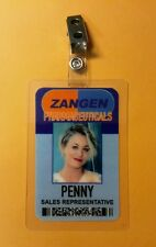 The Big Bang Theory ID Badge- Zangen Penny Sales Rep costume cosplay