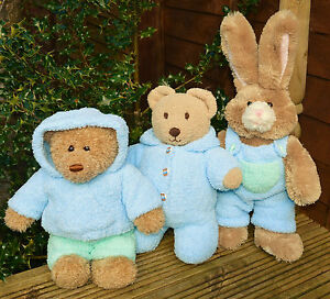 King Cole Teddy Bear Knitting Pattern : Knitting pattern Teddy Bear clothes, King Cole Cuddles Sirdar Snowflake DK do...