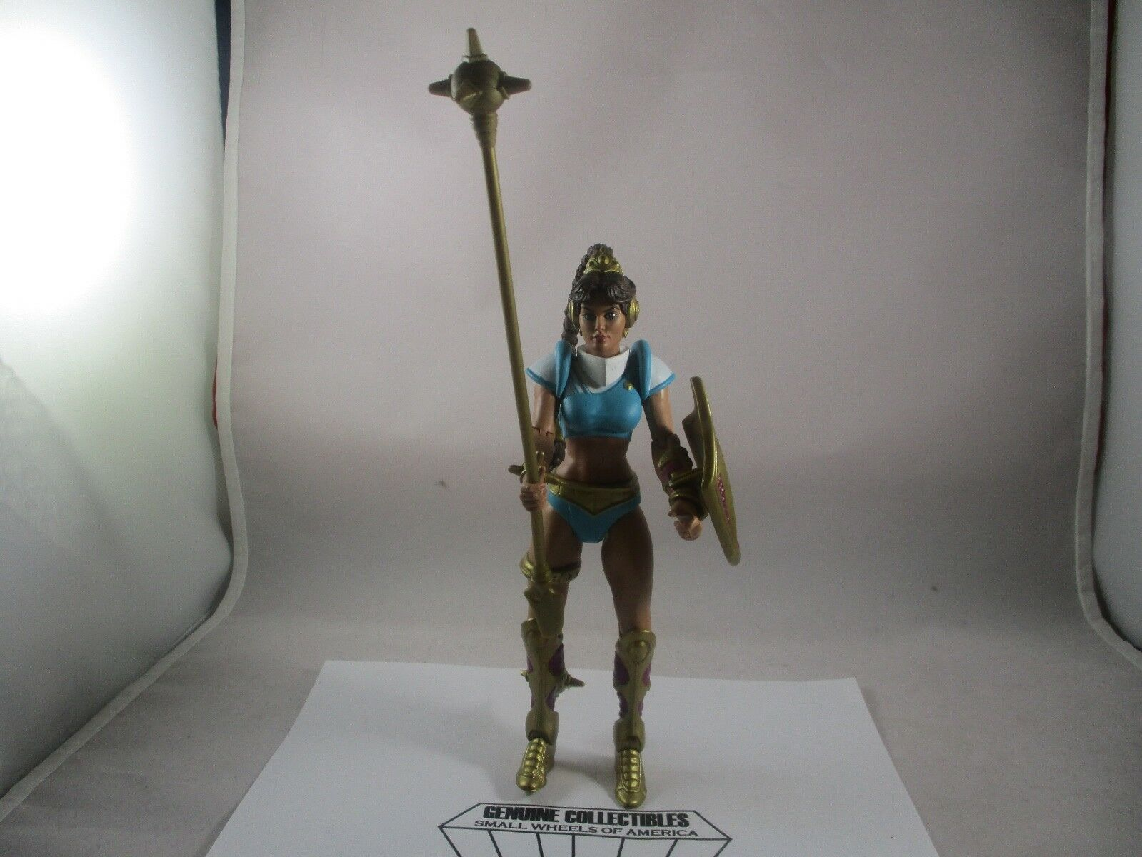 Vintage  Masters of the Universe MARA of PRIMUS PRIMUS of Action Figure+ID Card Complete 799a60
