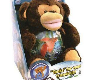 Teddy tank monkey as seen on tv betta fish tank hold snack for As seen on tv fish tank