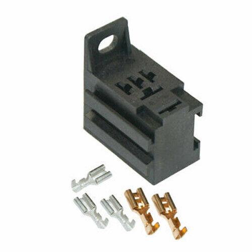 5 Terminals Gang Mountable MRY100 12V Micro Mini Power Relay Socket Base