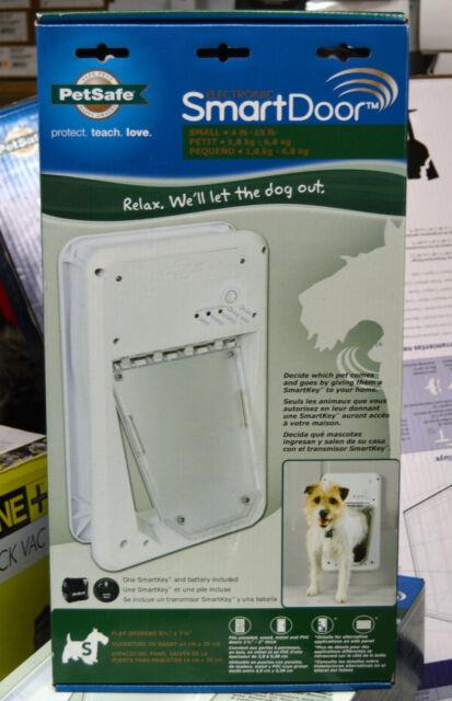 PetSafe Electronic Smart Pet Dog Door Small PPA11-10711 4-15lbs
