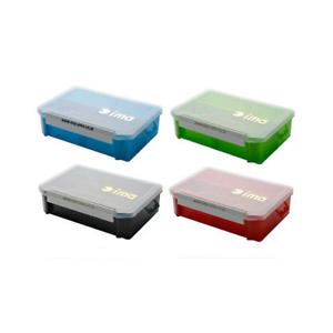 SEÑUELOS IMA CASE 205×145×60mm colorS MIXTO LATA SOPORTE ARTIFICIALES KIT