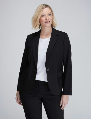 New Size Blazer Modernist Nero Jacket Bryant Lane Suit The Sz 28 Plus wfwa4qZ