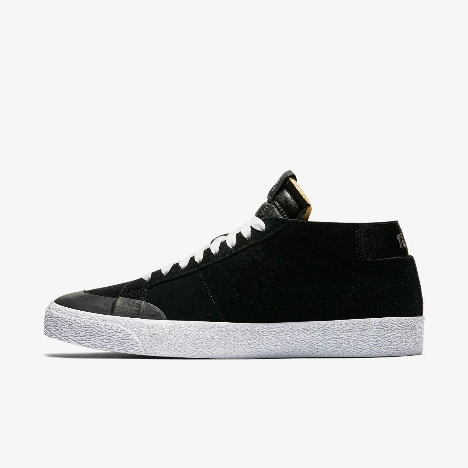 Nike SB Zoom Blazer Chukka XT Black Gunsmoke AH3366-001 Men's shoes Size 9   10