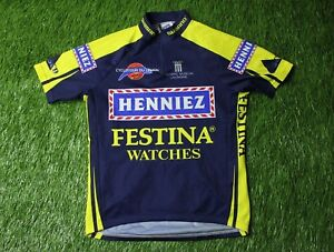 b96380f6f Image is loading CYCLING-SHIRT-JERSEY -MAGLIA-CAMISETA-TRIKOT-FESTINA-WATCHES-