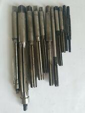 Vintage Usa Reamer Lot Morse Chucking Straight Flute Machinist Tools See Pics
