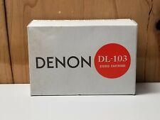 Denon Dl-103 MC Cartridge in MINT