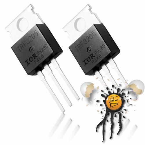 2 Stück IRF3205 IRFZ44N N Channel HEXFET Mosfet Arduino ESP8266 PWM TO-220