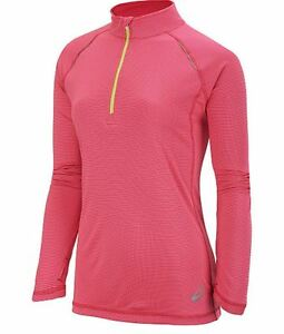 asics womens long sleeve running top