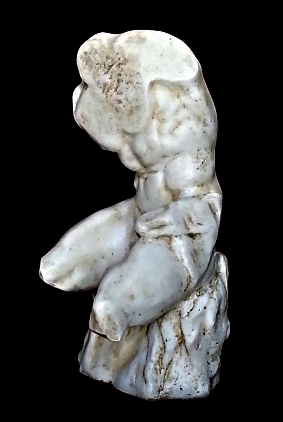 Belvedere torso ateniense Escultura griego italiano desnudo masculino Estatua. Hércules.
