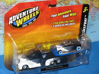 MAISTO ADVENTURE WHEELS MISSILE TOW FLATBED / 1932 FORD ROADSTER BRAND NEW & HTF