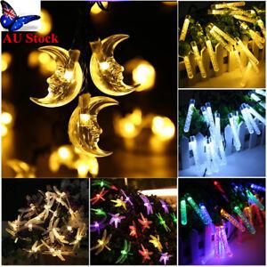 AU-20LED-Moon-Snow-Flower-Bubble-Cylinder-Dragonfly-Fairy-Light-Lamp-Solar-Decor