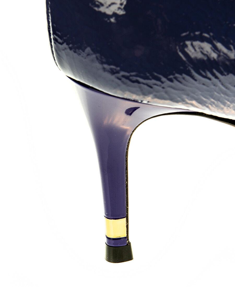 Authentic Baldinini Leather Italian Designer Stiefelie Stiefelie Stiefelie New Collection Blau d6c0f9