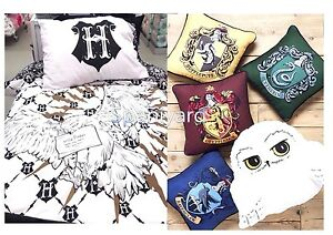 Harry potter hedwig bedding duvet cover set or cushions bnwt reversible ebay - Parure de lit harry potter ...