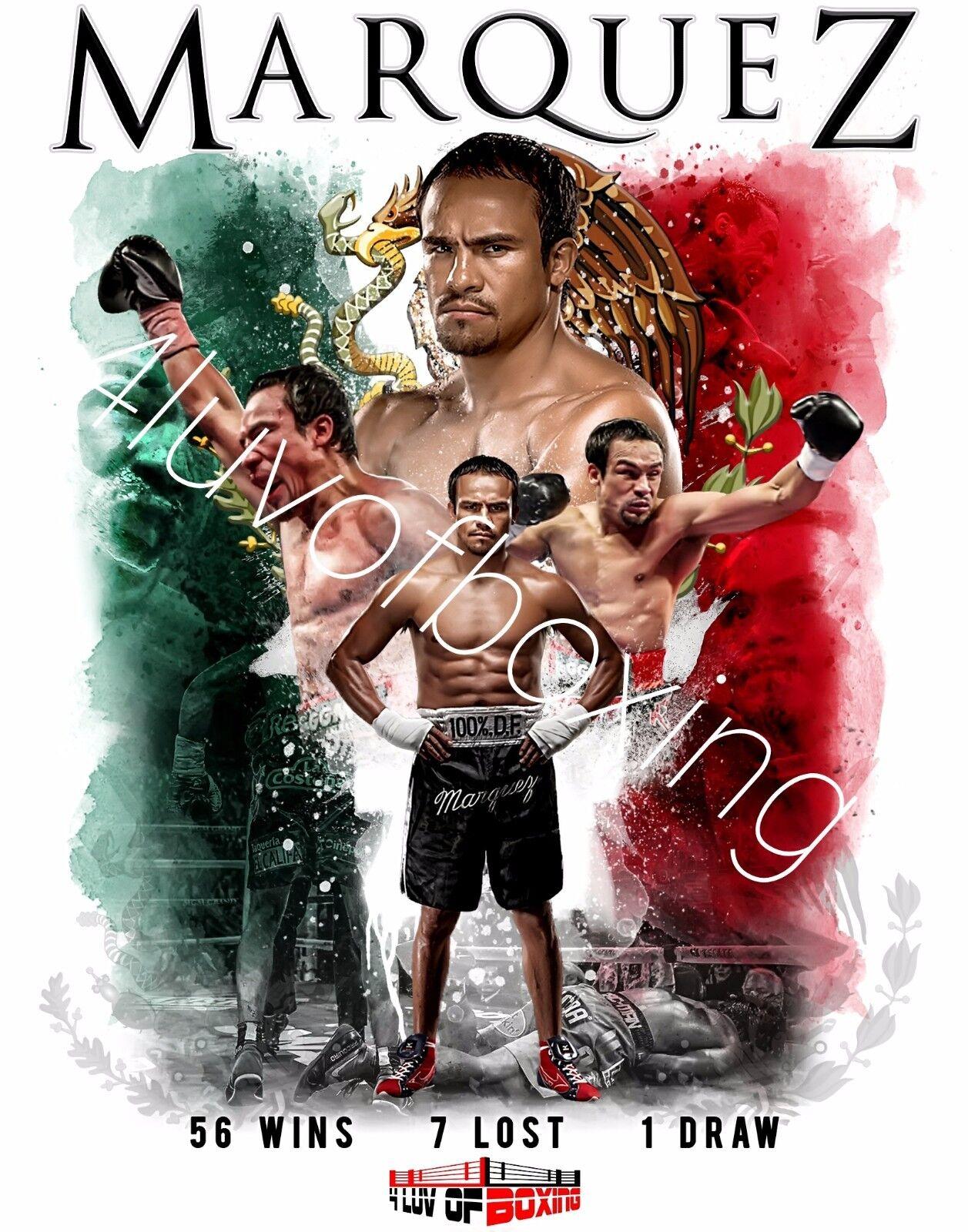 Juan Manuel Marquez Boxing Art Poster Print  Juan Manuel poster  Juan Manuel print  Juan Manuel art
