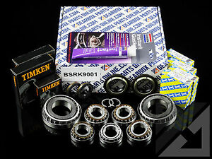 Opel Astra 1.9 D M32 o.e.m. gearbox bearing rebuild kit (no diff ...
