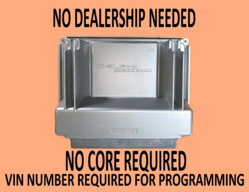 2000 SILVERADO 2500 6.0L ENGINE COMPUTER 09354896 16220610 VIN PROGRAMMED