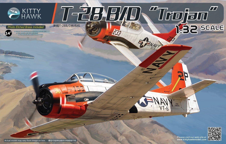 Kitty Hawk 1 32 T-28B D Trojan