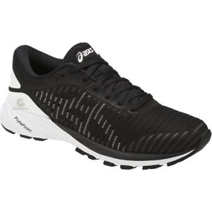 09fe6a14a374 Women s Asics DynaFlyte 2 Running Shoes - Black White Carbon - NIB ...