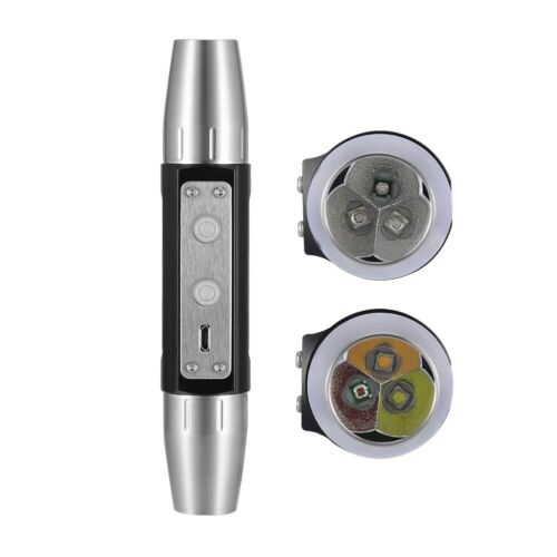 DX6 USB Rechargeable 6 Lights Expert Flashlight Bright Torch for Jewel YZ