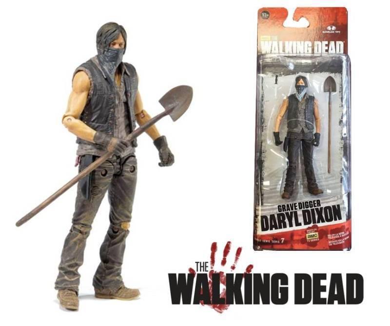 Action Figure Daryl Dixon Grave Grave Grave Digger The Walking Dead Serie 7.5 McFarlane  promociones de descuento